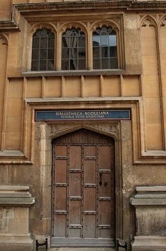one of the bodleian libraries - Oxford