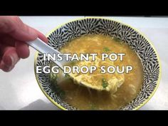 Instant pot egg drop soup is much better than your classic Chinese take-out recipe and pressure cooks in just one minute!