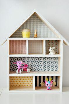 Diy casitas y otros juguetes playhouses and more on for Casita de madera ikea