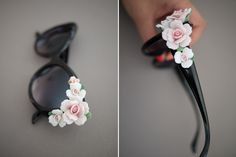 diy flower sunglasses, fashion ideas, diy tutorial, red flowers, the craft, craft stores, floral sunglasses, ray ban sunglasses, sunglasses dolce and gabbana