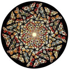 """""""Circle Limit with Butterflies"""" - Escher"""
