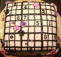 Sudoku cake!