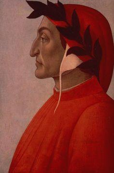 Portrait of Dante — Botticelli