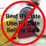 """It may come as a shock, but printed food dates are not federally regulated and do not refer to food safety. Thus, it's usually safe to eat your """"expired"""" food after its printed date has passed. This article helps you determine what's in a """"use by"""", """"best before"""", """"best by"""" or """"sell by"""" date to help you break away from the food date myth. Utilize our shelf life resource and stop throwing out perfectly good food."""