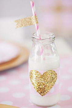 Loving gold glitter
