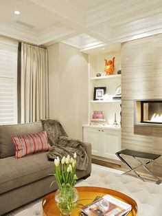 Modern Fireplace Surround Design, Pictures, Remodel, Decor and Ideas - page 34
