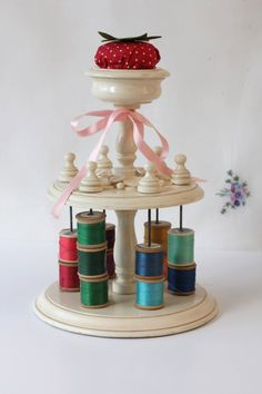 Cotton reel caddy