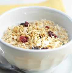 Serve Berry Granola with milk, of course, but it's also fabulous stirred into yogurt or even sprinkled over fruit salad for extra crunch.