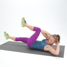 DIY:  The Lazy Girl's Guide to Getting Toned - here are exercises that target your abs & buns & require no equipment.