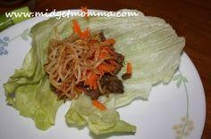 Crockpot Beef Lettuce Wraps