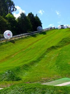 Zorbing - Just one o