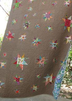 wonky star ~ beautiful! Want!