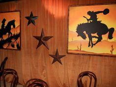 Western theme decor