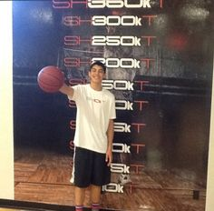 This kid tears the nets off here in Vancouver! Congrats on reaching 10k! #10Kclub #Arete #BasketballTraining #Shoot360