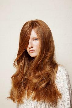.natural red hair
