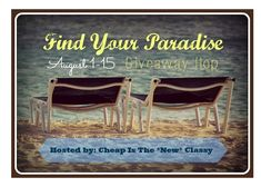 Find Your Paradise Giveaway - 40+ blogs with great giveaways. Start with mine for Amber Eco-Friendly jewelry.
