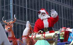 Thousands brave cold for #Santa Claus Parade #Toronto. #kids #christmas #xmas