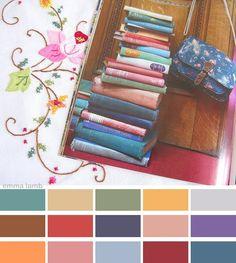 colour palette: vintage...