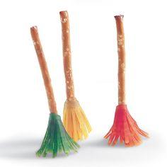 Mini Witch's Brooms Halloween Recipe