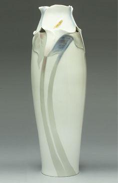 Vase, ca. 1900–1903  Designed by Nils Emil Lundström (Swedish, 1865–1960); Manufacturer: Rörstrand (Lidköping)  Hard-paste porcelain