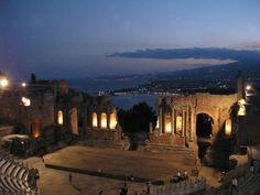 Teatro Greco di Taormina - Foto di Grazia   Sicilia
