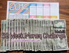 52 Week Money Challenge Week 13 #52weekmoneychallenge