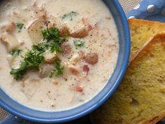 #Recipe: Crockpot Clam Chowder