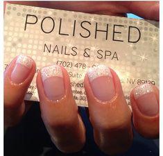 Nails , gel , glitter