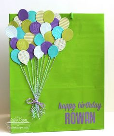 Party Balloons; Party Balloons Die-namics; Happy Birthday Die-namics; High-Rise Alphabet Uppercase Die-namics - Julie Dinn
