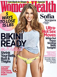 Sofia Vergara reveals how to be your own kind of sexy in our May 2014 issue! Click through for an exclusive subscription offer for our Pinterest followers: https://secure.rodale.com/webapp/wcs/stores/servlet/OaeEntryPage?storeId=10057&mktOfferId=WMH60175&keycode=I3DW0D12&cm_mmc=womenshealthmag.com-_-Social%20Media-_-WMH%20Pinterest%20Offer-_-OfferId_WMH60175_keycode_I3DW0D12