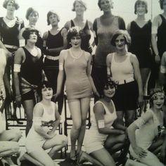 1920's scandalous attire.