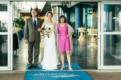 Wedding day at the Aquarium
