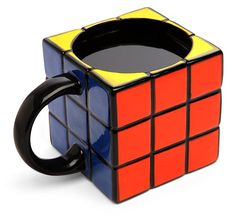 Rubik's Cube Styled Mug - heck yeah!!