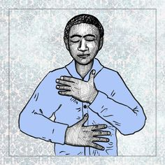 Peter Levine Self Soothing Hand Position Exercise to try yourself at link. The goal of the exercise is to calm the nervous system, bring the Self back into the body, develop more body awareness, and to train one's own nervous system to remember what normal is like.  We can feel the body as container and get a sense of having boundaries. This exercise helps develop self-regulation and empowered to change the physiological and emotional states we find ourselves in.  #cptsd #ptsd #trauma #recovery