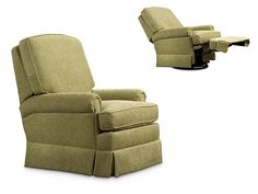 Leathercraft - 2757 Swivel Rocker Recliner