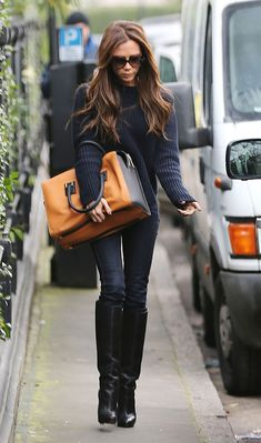 Victoria Beckham- THATS how you do boots