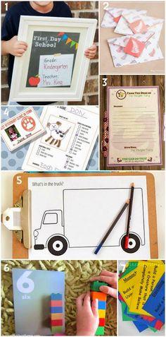 7 free awesome kids printables