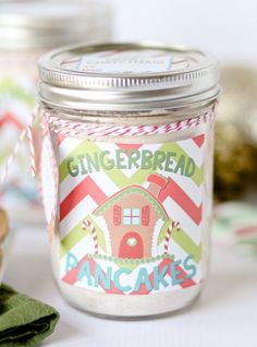 Homemade Gingerbread Pancake Mix
