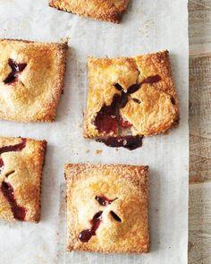 Blackberry-Raspberry Hand Pies Recipe @S. C. Studio NYC #saltstudionyc #saltstudioslc
