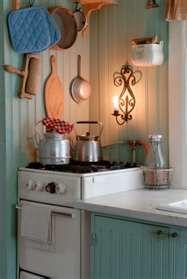great kitchen idea; love the beadboard