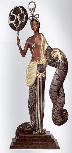 Erte Bronze - BAMBOO |Pinned from PinTo for iPad|