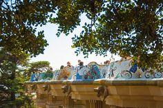 Barcelona by Renata Lamezi, via Flickr, Parc guell