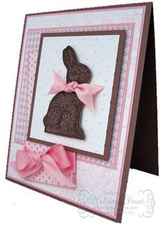 chocol bunni, easter card, ear, craigredl, card food