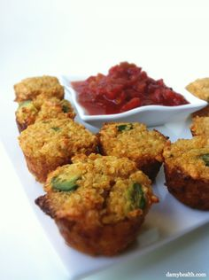 Quinoa Taco Bites - *This recipe is gluten free, grain free, higher in protein, clean, skinny, packed with nutrition and completely guilt free!http://www.damyhealth.com/2012/05/quinoa-taco-bites/