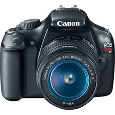 Canon Rebel T3  One day I will own a grown up camera