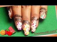 Fruit Nail Art By Khoobsurati.com