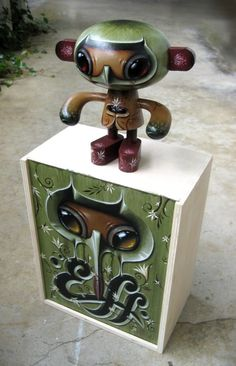 Toy painting by Jason Limon