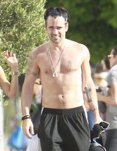 Colin Farrell in Yoga Pants