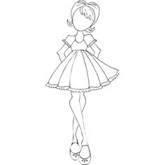 """Presale Prima Mixed Media Doll Cling Rubber Stamps 3.3""""X7.2""""-(NEW)Candie"""