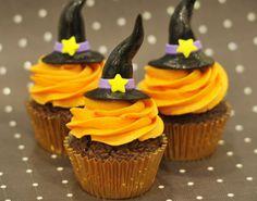 holiday, witch cupcak, idea, food, fall, halloween cupcakes, recip